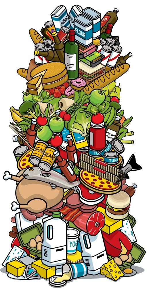 food-pile